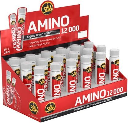 All Stars Amino 12000 Shots, 18 x 25 ml Ampullen