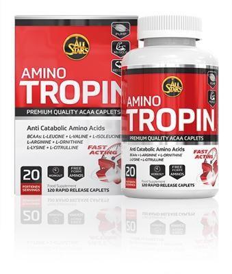All Stars Amino Tropin, 120 Tabletten Dose (Test)