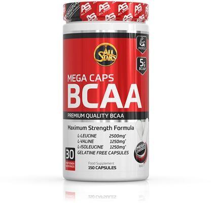 All Stars BCAA Mega Caps, 150 Kapseln Dose