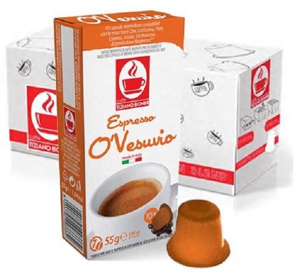10 Kapslen - TIZIANO BONINI | Vesuvio | Nespresso kompatibel