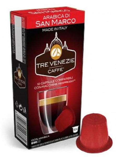 10 Kapseln - TRE VENEZIE | Arabica di S. Marco | Nespresso kompatibel