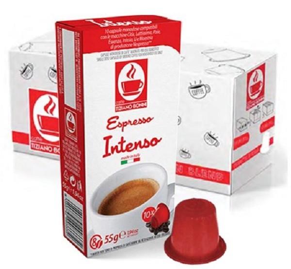 10 Kapslen - TIZIANO BONINI | Intenso | Nespresso kompatibel