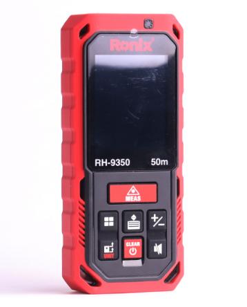 Ronix: Laser-Distanzmessgerät: 50m / Neigungsmesser